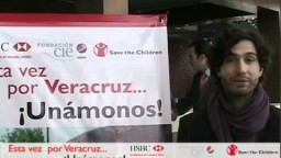 Benny Ibarra apoya Veracruz    Save the Children