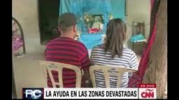 Reportaje en CNN sobre damnificados en Oaxaca
