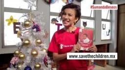 #SumandoDeseos con Ingrid Coronado   Save the Children