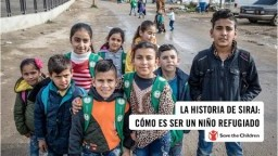 La historia de Siraj: Cómo es ser un niño refugiado | Save the Children