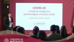 #ConferenciaDePrensa: #Coronavirus #COVID19   16 de marzo de 2020