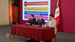 #ConferenciaDePrensa: #Coronavirus #COVID19   9 de marzo de 2020