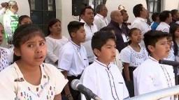 CCXIV Aniversario del Natalicio del Lic. Benito Juárez García, desde Guelatao de Juárez, Oaxaca