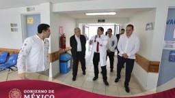 Supervisión de Infraestructura Hospitalaria Issste-Insabi en Cuernavaca, Morelos