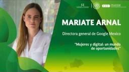 María Teresa Arnal   Directora Google México