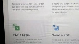 Convierte tu archivo PDF a EXCEL