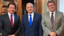 Reunión con legisladores en Palacio Nacional