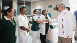 Diálogo con la comunidad del Hospital Rural Altamirano, desde Altamirano, Chiapas