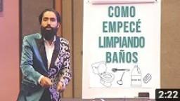 CÓMO EMPECÉ LAVANDO BAÑOS
