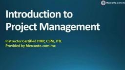 Introduccion a la Administración de Proyectos
