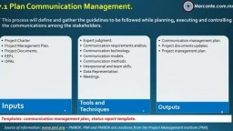 A7. Communication Management