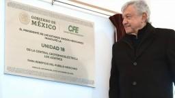 Inauguración de la Unidad 18 de la Central 'Los Azufres', desde Ciudad Hidalgo, Michoacán