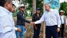 Sembrando Vida, asamblea ejidal, desde Jalapa, Tabasco