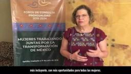 """Coahuila. Foro de consulta """"Mujeres trabajando juntas por la transformación de México"""""""